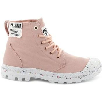 Schuhe Damen Sneaker High Palladium Manufacture Pampa HI Rosa