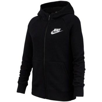 Kleidung Mädchen Sweatshirts Nike Sportswear Schwarz