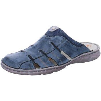 Schuhe Damen Pantoletten / Clogs Krisbut Pantoletten 1130-1 blau