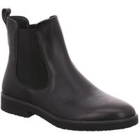Schuhe Damen Low Boots Legero Stiefeletten Stiefelette Leder \ SOANA 2-000866-0100 schwarz
