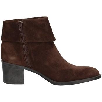 Schuhe Damen Ankle Boots Campanile CC43 BRAUN