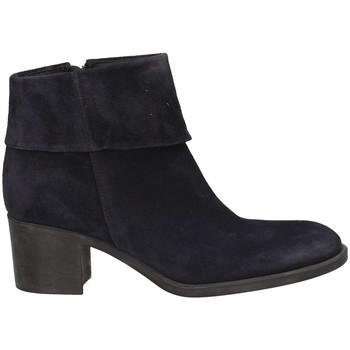 Schuhe Damen Ankle Boots Campanile CC43 BLAU