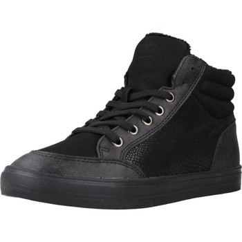 Schuhe Damen Sneaker High Sprox 275638 Schwarz