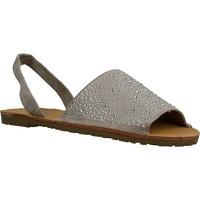 Schuhe Damen Sandalen / Sandaletten Sprox 280723 Grau