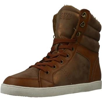 Schuhe Damen Sneaker High Sprox 285288 Brown
