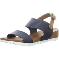 Schuhe Damen Sandalen / Sandaletten Macakitzbühel Sandaletten 2802 NAVY grau