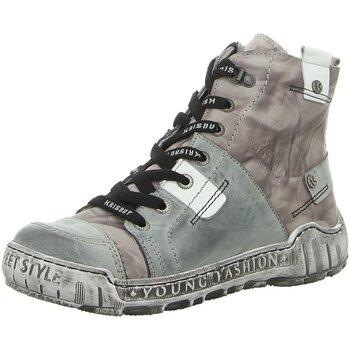 Schuhe Damen Boots Krisbut Stiefeletten 3179-2-4 grau