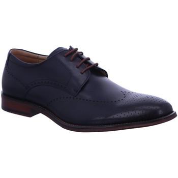 Schuhe Herren Derby-Schuhe Digel Business Schnürhalbschuh Business Blau Selling Neu 1001923-20 blau