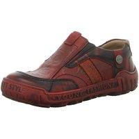 Schuhe Damen Slipper Krisbut Slipper 2438-3-1 rot