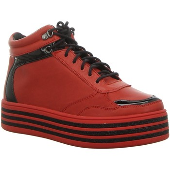 Schuhe Damen Sneaker High Tizian T30513-24400 rot