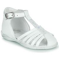 Schuhe Mädchen Sandalen / Sandaletten Little Mary VOLGA Weiss