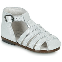 Schuhe Mädchen Sandalen / Sandaletten Little Mary JULES Silbern