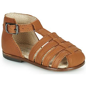 Schuhe Mädchen Sandalen / Sandaletten Little Mary JULES Braun