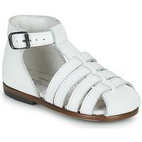 Schuhe Mädchen Sandalen / Sandaletten Little Mary JULES Weiss