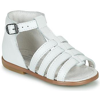 Schuhe Mädchen Sandalen / Sandaletten Little Mary HOSMOSE Weiss