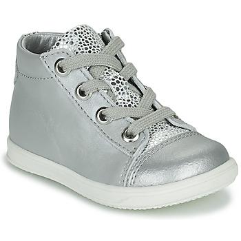 Schuhe Mädchen Sneaker High Little Mary VITAMINE Silbern