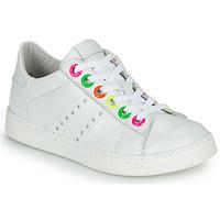Schuhe Mädchen Sneaker Low Little Mary LAURENE Weiss