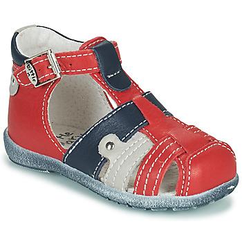 Schuhe Jungen Sandalen / Sandaletten Little Mary VERCORS Rot