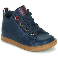 Schuhe Jungen Sneaker High Little Mary LEON Blau