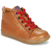 Schuhe Jungen Sneaker High Little Mary LEON Braun