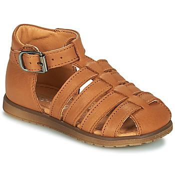Schuhe Jungen Sandalen / Sandaletten Little Mary LIXY Braun