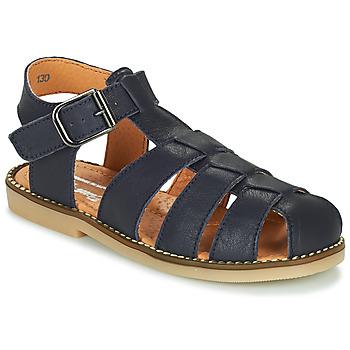 Schuhe Jungen Sandalen / Sandaletten Little Mary BREHAT Blau