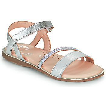 Schuhe Mädchen Sandalen / Sandaletten Little Mary DOLERON Silbern