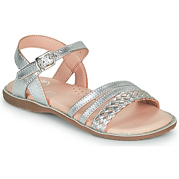 Schuhe Mädchen Sandalen / Sandaletten Little Mary LIME Silbern