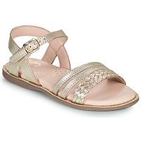 Schuhe Mädchen Sandalen / Sandaletten Little Mary LIME Gold