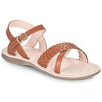 Schuhe Mädchen Sandalen / Sandaletten Little Mary LIANE Braun