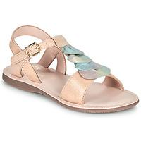 Schuhe Mädchen Sandalen / Sandaletten Little Mary MARIETTE Gold