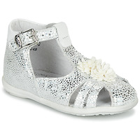Schuhe Mädchen Sandalen / Sandaletten Little Mary GLADYS Silbern