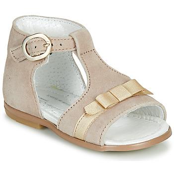 Schuhe Mädchen Sandalen / Sandaletten Little Mary GAELLE Beige