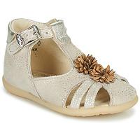 Schuhe Mädchen Sandalen / Sandaletten Little Mary GLADYS Beige