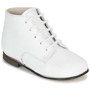 Schuhe Kinder Boots Little Mary FL Weiss