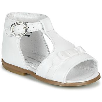 Schuhe Mädchen Sandalen / Sandaletten Little Mary GAELLE Weiss