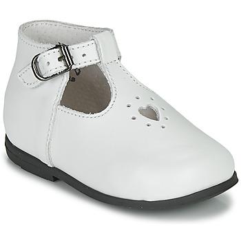 Schuhe Mädchen Sandalen / Sandaletten Little Mary NANNY SP Weiss