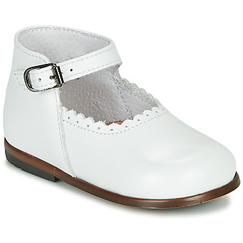 Schuhe Mädchen Sandalen / Sandaletten Little Mary VOCALISE Weiss