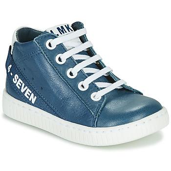 Schuhe Jungen Sneaker High Little Mary LUCKY Blau
