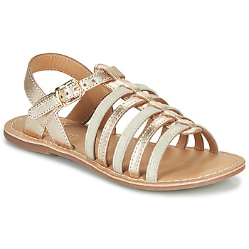 Schuhe Mädchen Sandalen / Sandaletten Little Mary BARBADE Gold