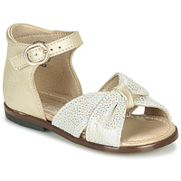 Schuhe Mädchen Sandalen / Sandaletten Little Mary DIANA Gold