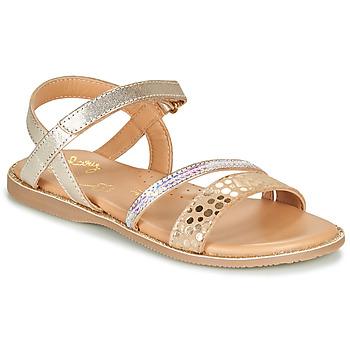 Schuhe Mädchen Sandalen / Sandaletten Little Mary DOLERON Gold