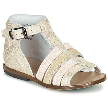Schuhe Mädchen Sandalen / Sandaletten Little Mary HOSMOSE Gold