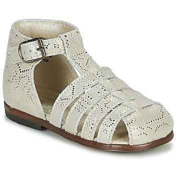 Schuhe Mädchen Sandalen / Sandaletten Little Mary JULES Gold