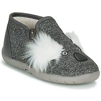 Schuhe Kinder Hausschuhe Little Mary KOALAZIP Grau