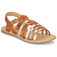 Schuhe Mädchen Sandalen / Sandaletten Little Mary BARBADE Cognac / Rose
