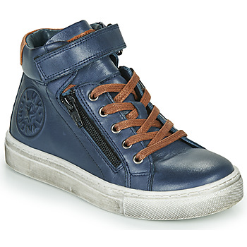 Schuhe Jungen Sneaker High Little Mary FIRST Blau