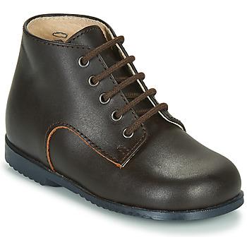 Schuhe Kinder Boots Little Mary MILOT Braun