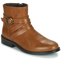 Schuhe Mädchen Boots Little Mary TIMOTHY Cognac