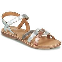 Schuhe Mädchen Sandalen / Sandaletten Little Mary LIGHT Silbern / Bronze / Rose / Gold